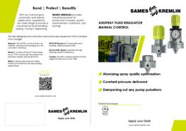 Leafler Airspray fluid regulator (English version) SAMES KREMLIN