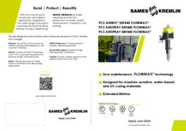 Leaflet 04F440 08F440 airspray 20F440 Airmix® Flowmax® paint pump (English version) SAMES KREMLIN