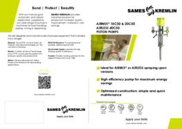 Leaflet 10C50 -20C50 -40C50 Paint Pump (English version) SAMES KREMLIN