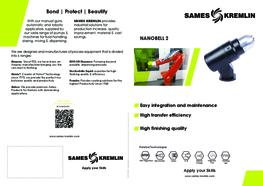 Leaflet Nanobell 2 Rotary Bell Atomizer (English version) SAMES KREMLIN