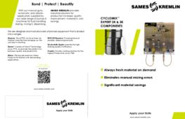 Leaflet Cyclomix®  Expert 2K-3K Electronic Mixing & Dosing System (English version) SAMES KREMLIN