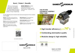 Leaflet A35 Automatic Airspray Spray Gun (English version) SAMES KREMLIN
